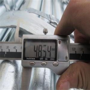 galvanized steel pipe with  round carbon price per ton