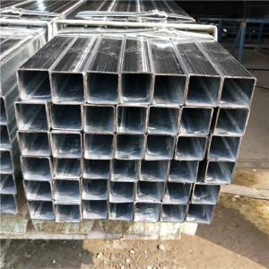 tubo cuadrado pre-galvanizado