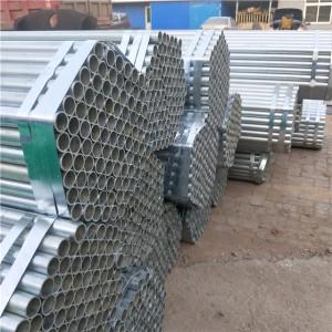 Hot Dip 1.5 Inch Galvanized Steel Pipe