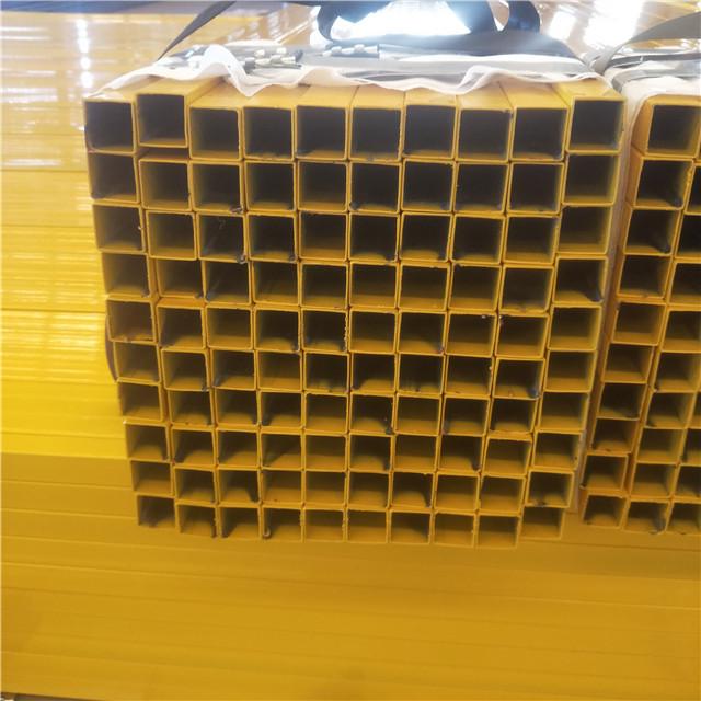 China 100% Original C Channel Sizes Metric - galvanized square tube