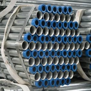 galvanized threaed steel pipe