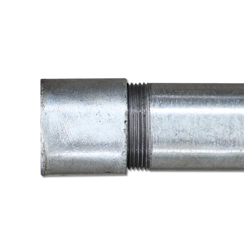 hot dip galvanized thread pipe