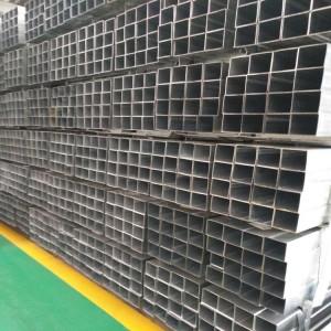 Erw Steel Pipe Rectangular Tube Sizes