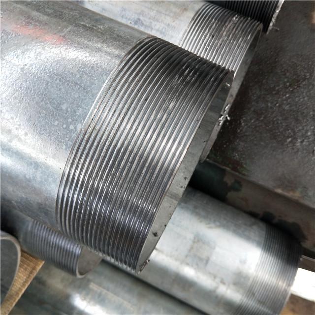 thread hot dip galvanized steel pipe