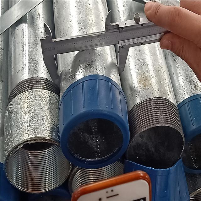 thread steel pipe diameter test